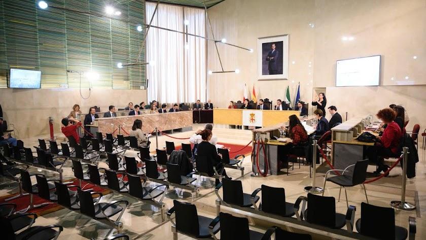 Sesión plenaria del pasado viernes en el que se aprobó definitivamente el presupuesto