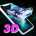 3D Live Wallpapers: HD 4K Lockscreen Background icon
