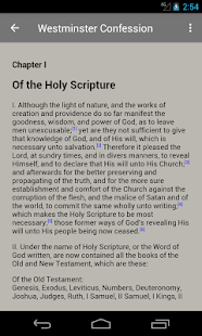 The Westminster Confession- screenshot thumbnail