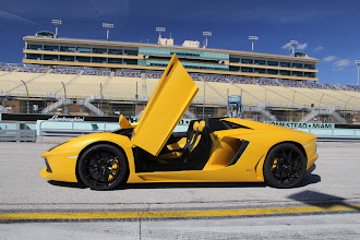 Photo: It's priced at $795,000 Plus taxes in Australia. That's $33,500 above the Aventador Coupe.
