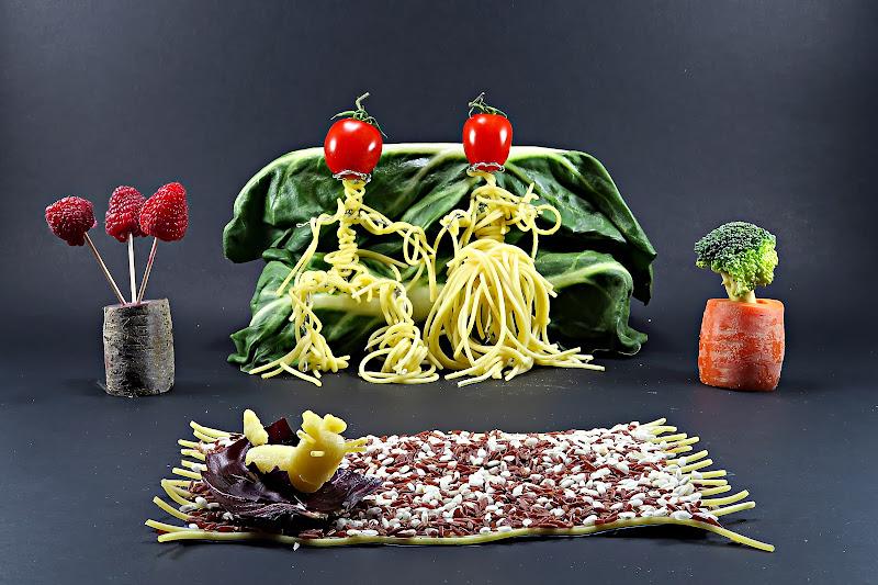 Dieta meditterranea per la famiglia italiana di Yoyo