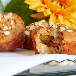 Apple and Oat Muffins Recipe