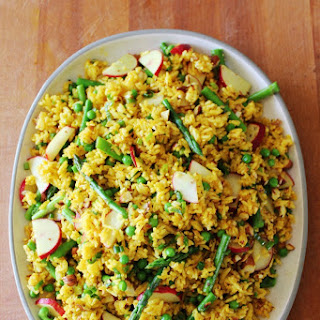 Easter Curry Rice Salad.