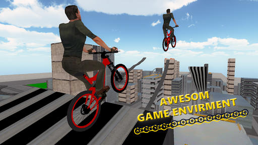 BMX RoofTop Bicycle Tricks 1.4 Mod screenshots 5