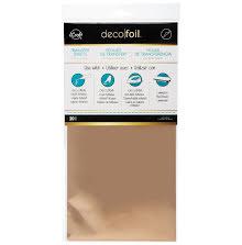 Thermoweb Deco Foil Transfer Sheet 6X12 20/Pkg - Rose Gold
