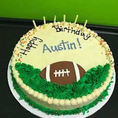 Delicious custom cake for my son's birthday.