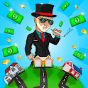 Idle Cash Clicker: Money Tycoon, Manager Simulator icon