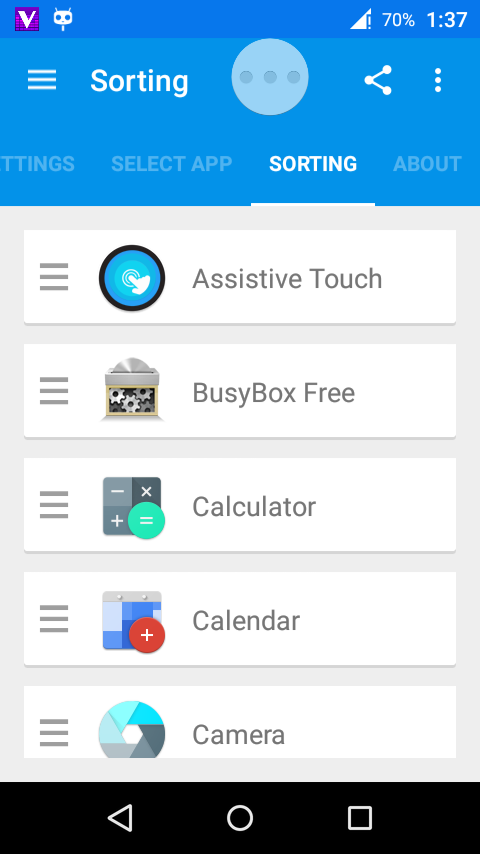 Tải phần mềm ToolBox, ứng dụng giống galaxy s5 cho android