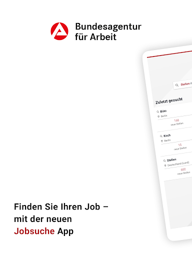 Jobsuche – die neue JOBBÖRSE 2.6.0 screenshots 6