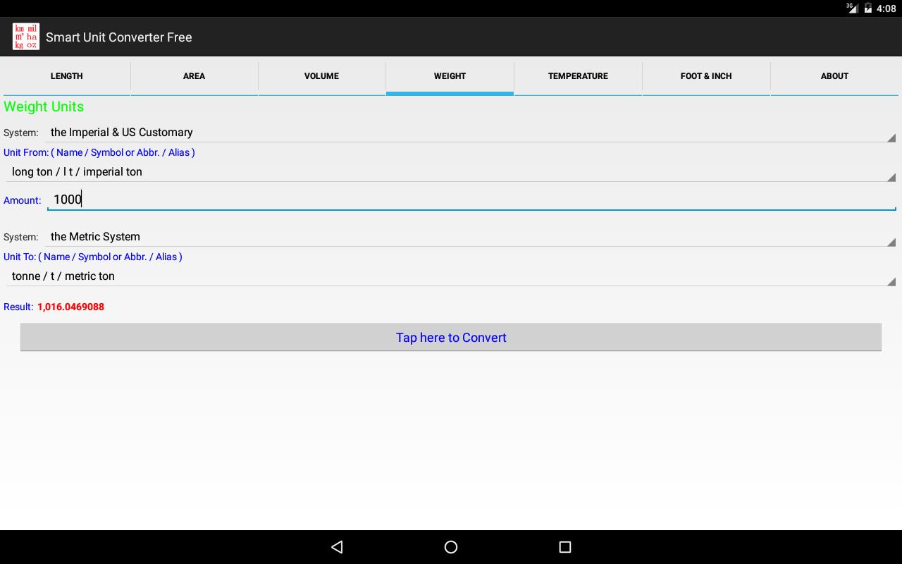 Smart unit converter free high precision pure android apps smart unit converter free high precision pure screenshot biocorpaavc