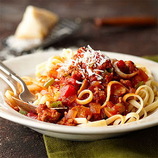 Spaghetti with Sauce Italiano