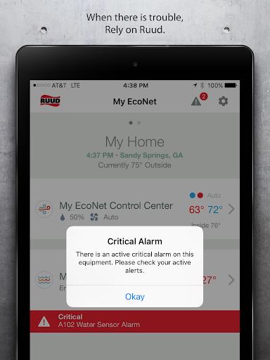 玩免費生活APP 下載EcoNet Ruud app不用錢 硬是要APP