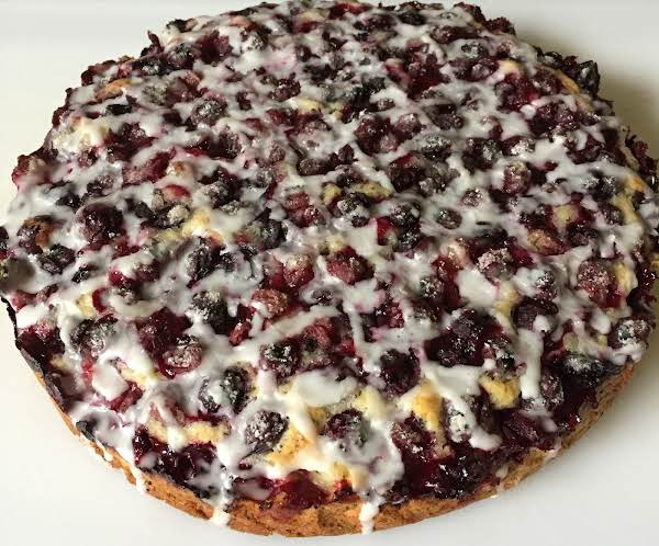 Blueberry Poppy Seed Cake With Drizzle