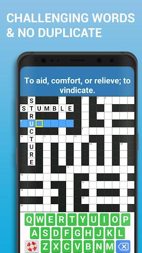 Crossword Puzzle Free Classic Word Game Offline screenshots 2