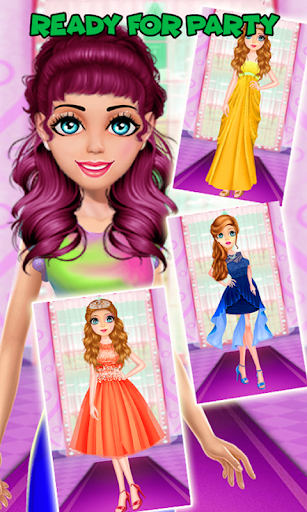 Cute Girl Makeup Salon Game: Face Makeover Spa apkmr screenshots 5