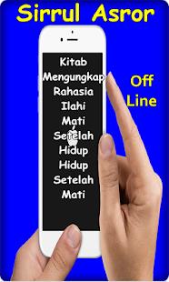 Kitab Sirul Asror Wasiat Agung Abdul Qodir Zaelani - náhled
