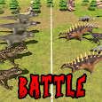 Jurassic Epic Dinosaur Battle Simulator Dino World icon