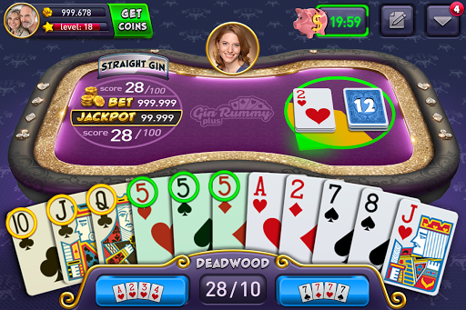 Gin Rummy Plus screenshot 1
