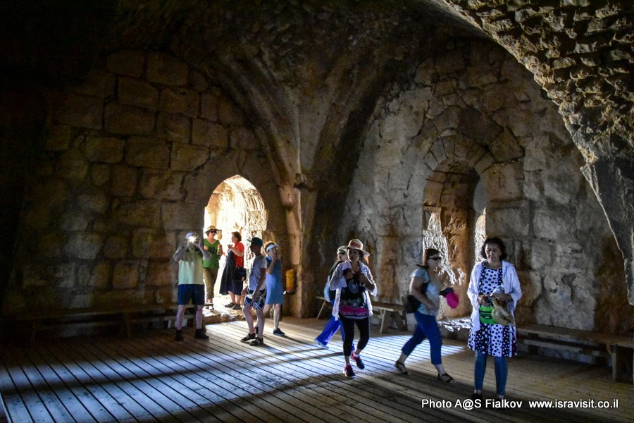 Путешествия по Израилю. Крепость Нимрод.