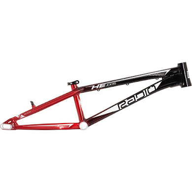 Radio Helium  BMX  Race Frame - Black and Red / Black Thumb