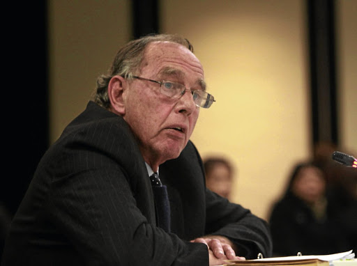 Judge Robert Nugent: Submitted his final report to President Cyril Ramaphosa. Picture: Sunday Times/Simphiwe Nkwali