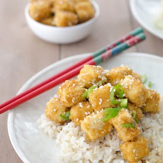 Crispy Honey Garlic Tofu Stir-Fry