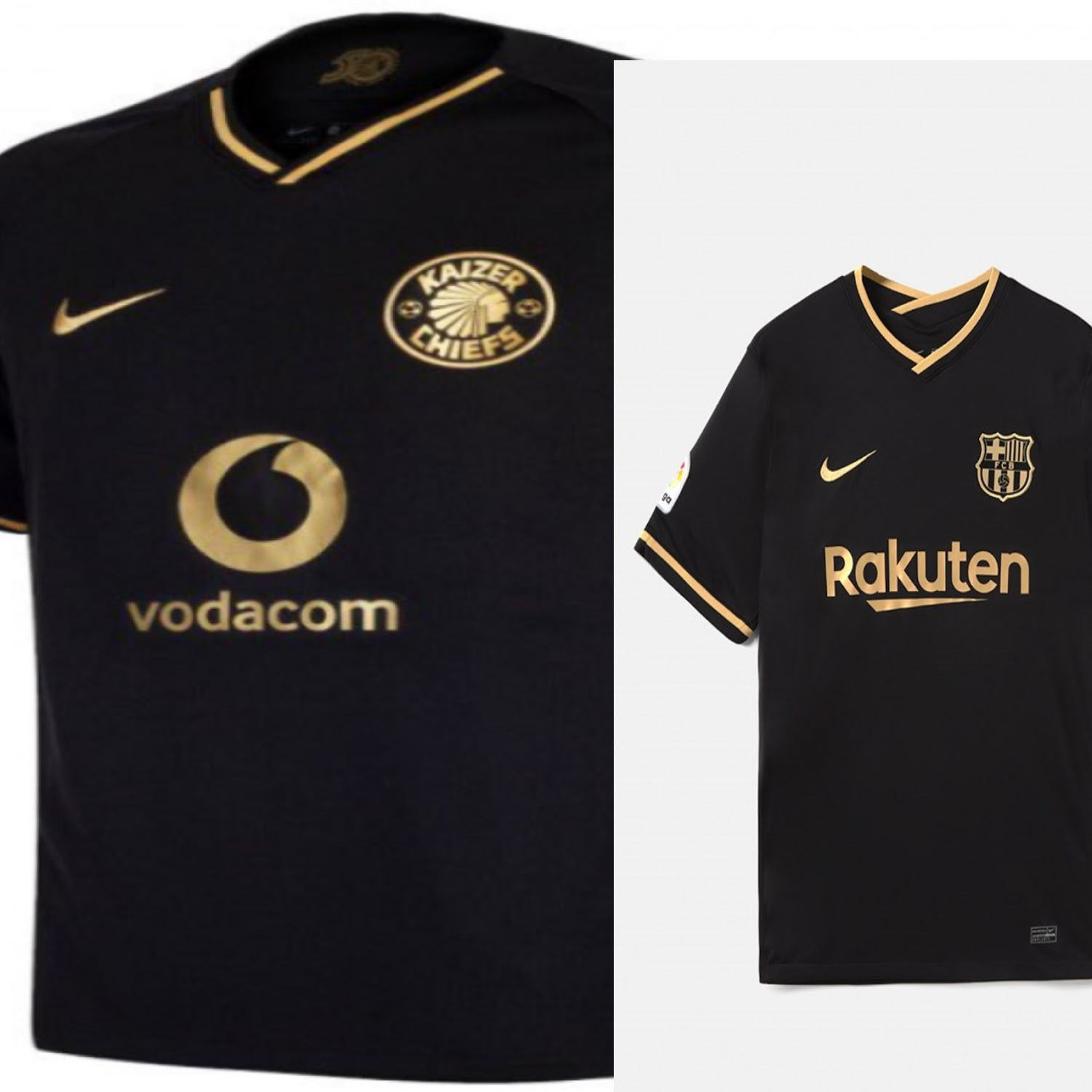 Kaizer Chiefs Express Surprise Over Barcelona S Strikingly Similar New Jersey