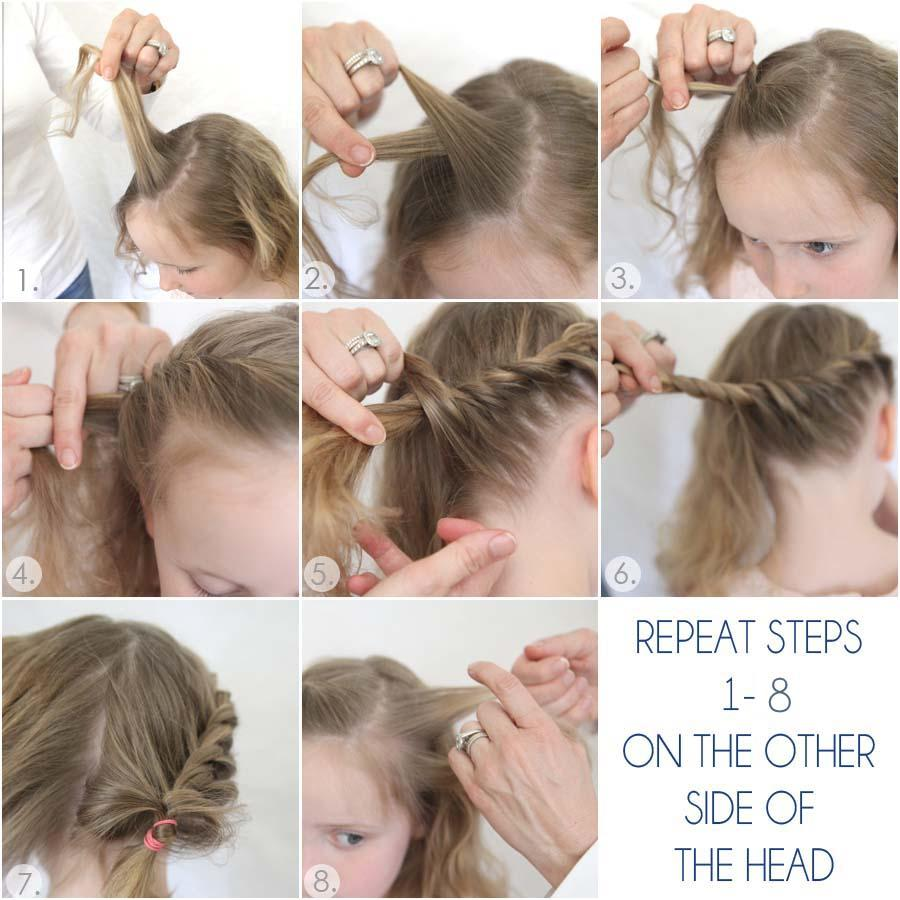 little girl hairstyle tutorial - android apps on google play