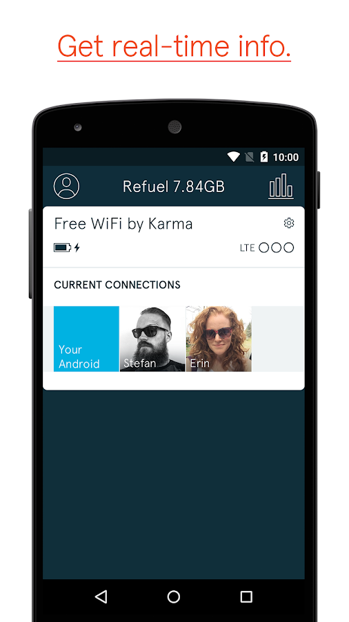 Karma WiFi- screenshot
