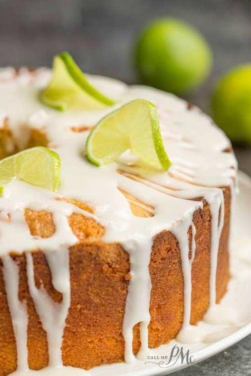 Scratch Made Key Lime Pound Cake Recipe With Key Lime Glaze