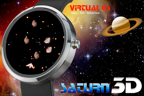 SATURN 3D (Wear OS)- screenshot thumbnail