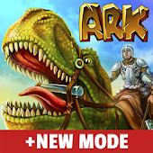 The Ark of Craft: Dinosaur Survival + Pixel Mode