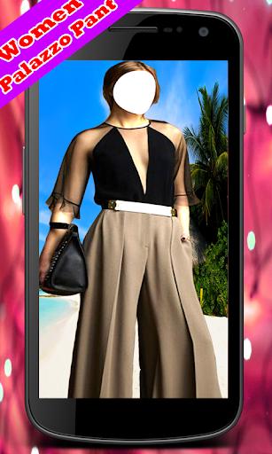 Women Palazzo Pant Suit New screenshot 2