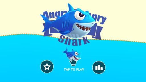 Angry Hungry Shark