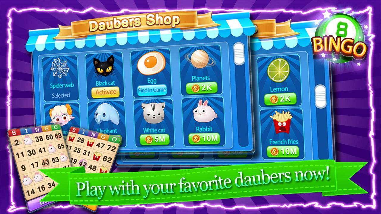 free online bingo casino games