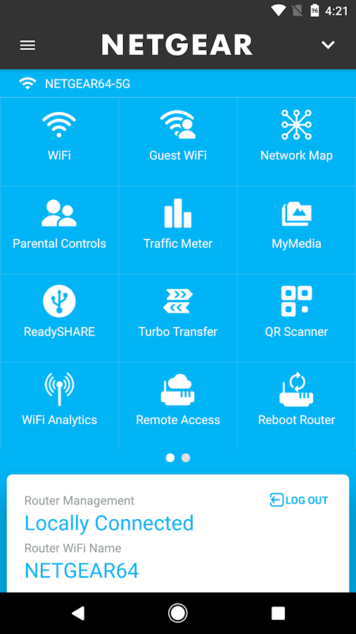NETGEAR Genie- screenshot