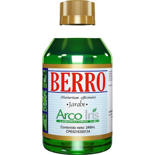 Berro 240Ml Jarabe Extracto Berro Arcoiris
