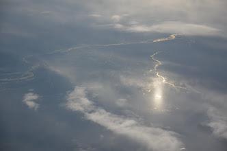 Photo: Probablement le fleuve Amou Daria, non loin de Samarkand