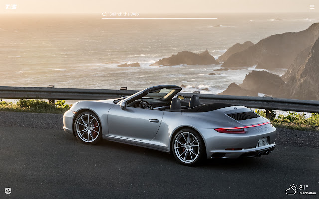 Porsche Carrera HD Wallpapers New Tab Theme