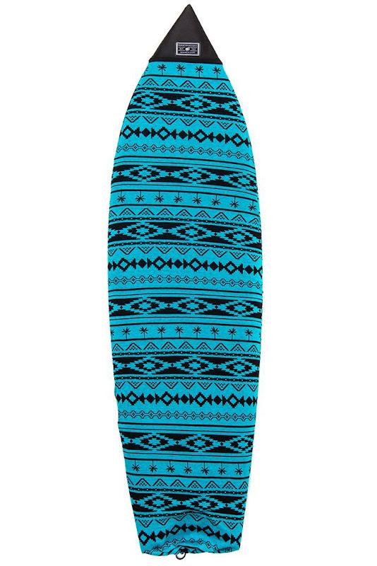 CREATURES OF LEISURE - FISH 6'7 NAVAJO SURF SOX: BLUE