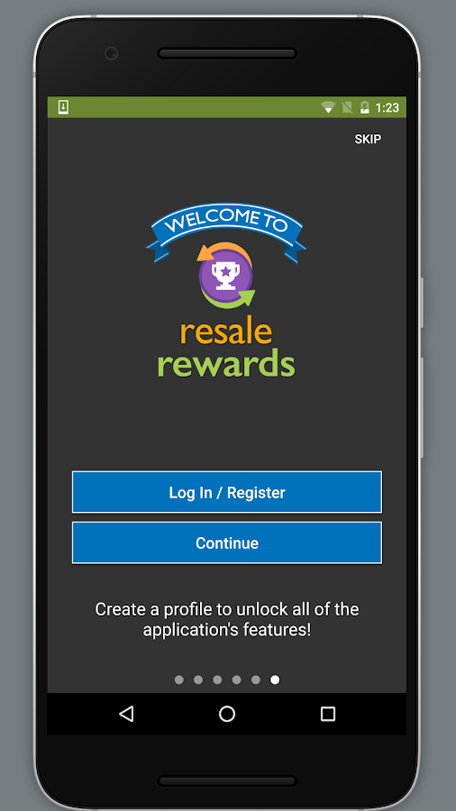 Resale Rewards- screenshot