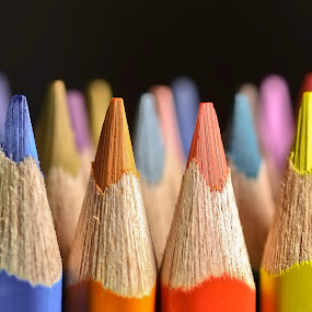 Colored pencils by Wilfredo Garrido - Products & Objects Education Objects ( colored pencils, objects, products, pencils )