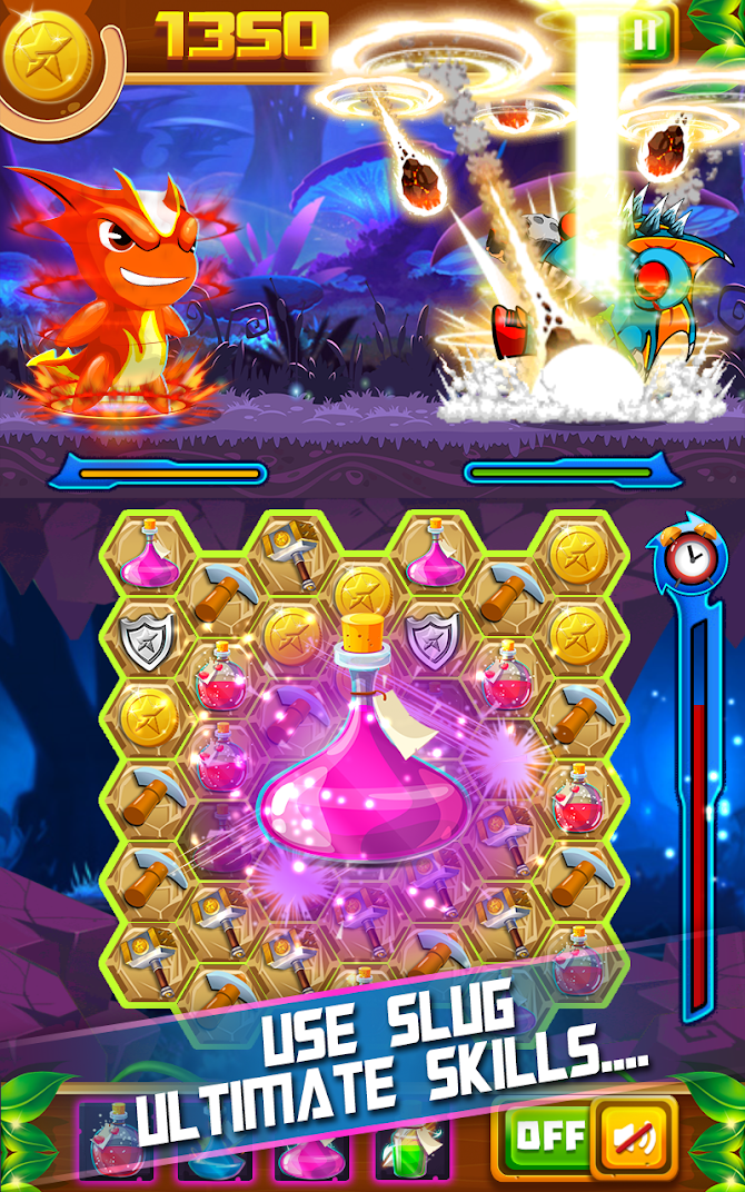 Slug Match 3 RPG Android 4