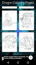 Dragon Coloring Book - screenshot thumbnail 07
