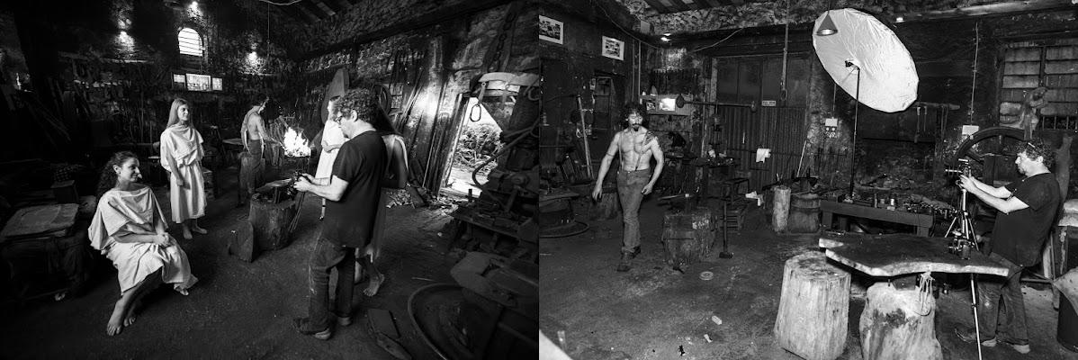 Dee greche nella tana del coltellinaio di Pixelnature Photo
