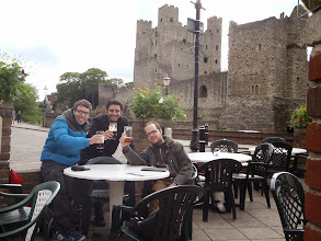 Photo: Beer garden in Rochester