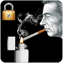 Smoke Cigarette Screen Lock icon
