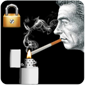 Smoke Cigarette Screen Lock