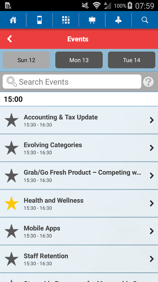 National Grocers Association- screenshot