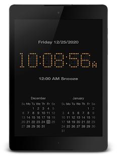 "PsPsClock ""Incand"" - Music Alarm Clock & Calendar - náhled"